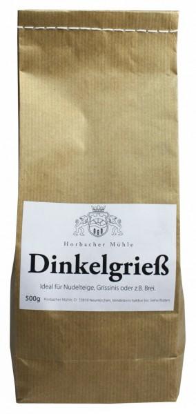 Dinkelgrieß Vollkorn (500g)