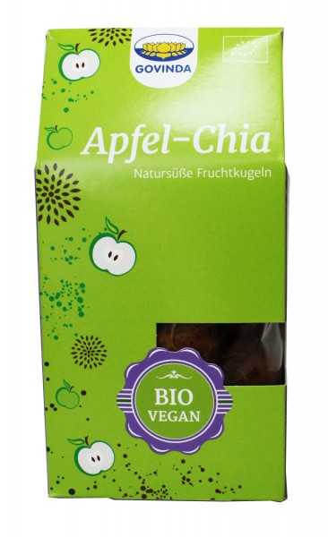 Bio Apfel-Chia Kugeln (120g)