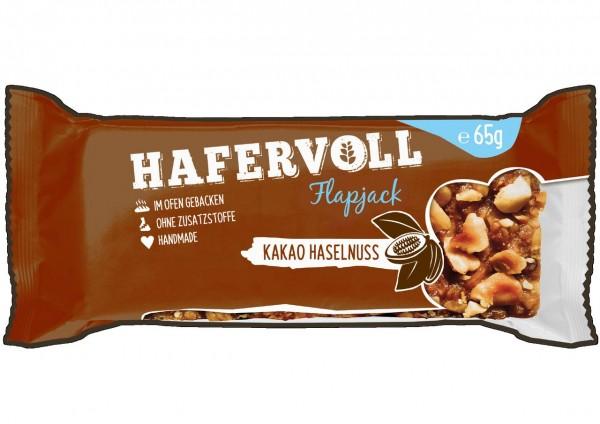Hafervoll Flapjack 65g (Kakao-Haselnuss)