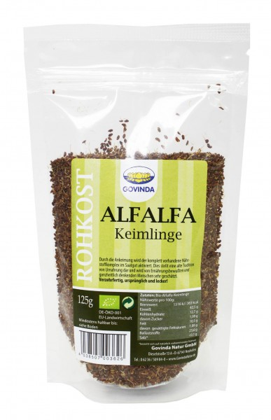 Bio Keimlinge (Alfalfa) 125g