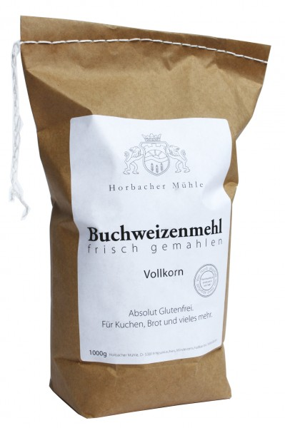 Buchweizenmehl Vollkorn (1kg)