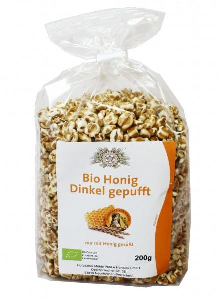 Bio Honig Dinkel gepufft (200g)