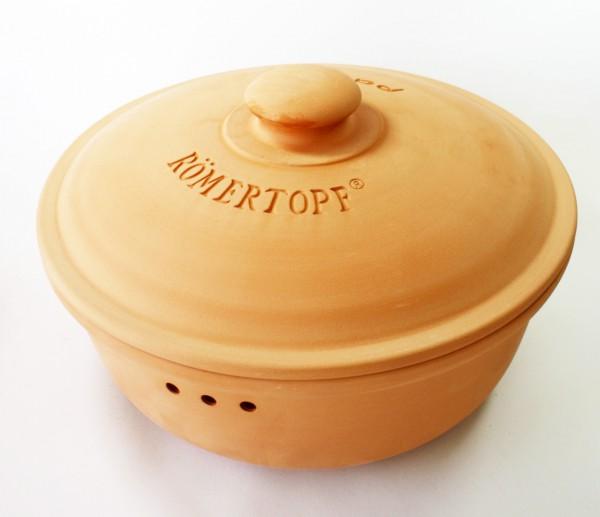 Brottopf rund (terracotta)
