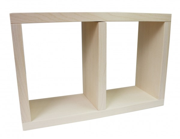 Holzbackrahmen mit Teiler (30x20x10cm)
