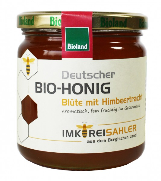 Bio-Honig (Blüte mit Himbeertracht)