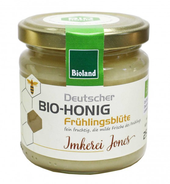 Bio Frühlingsblütenhonig (250g)