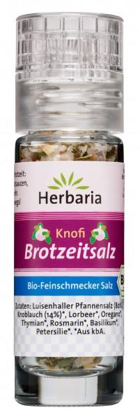 Bio Knofi Brotzeitsalz (Mini-Mühle)