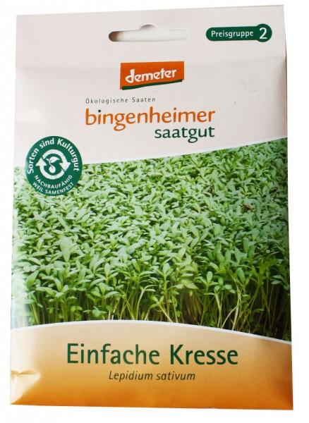 Einfache Kresse (Bingenheimer Bio-Saatgut)