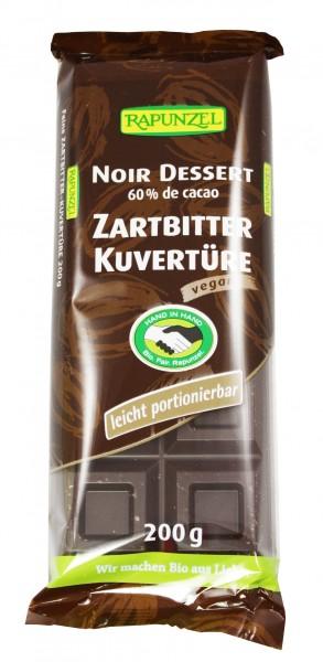 Bio Zartbitter Kuvertüre (200g)