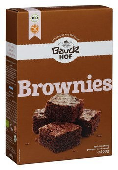 Bio Brownies Backmischung glutenfrei (400g)