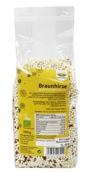 Bio Braunhirse gepufft (150g)