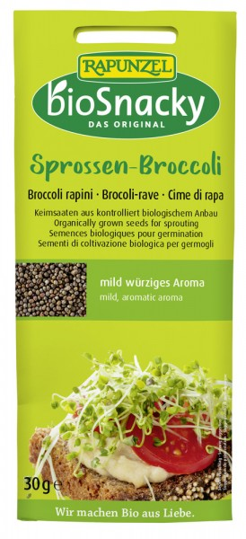 biosnacky Sprossen Broccoli (30g)