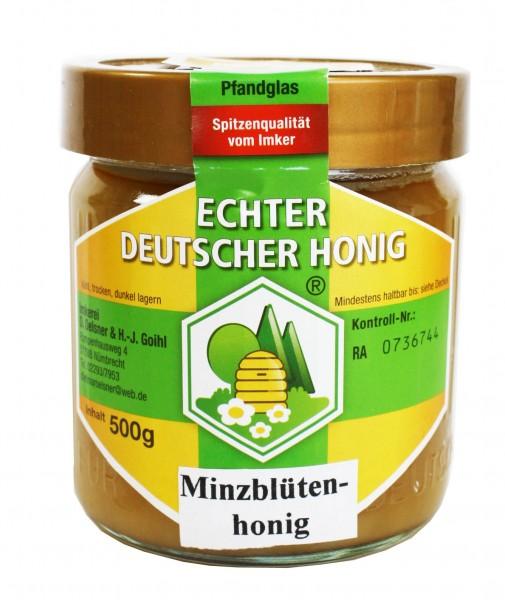 Honig - Minzblütenhonig (500g)