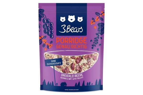 Dreierlei Beere - Porridge