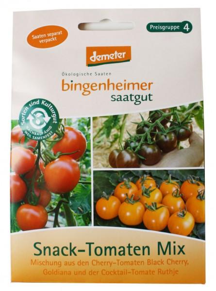 Snack-Tomaten Mix ( Bio-Saatgut)