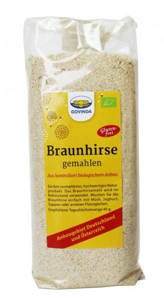Bio Braunhirse gemahlen (Urhirse) 500g