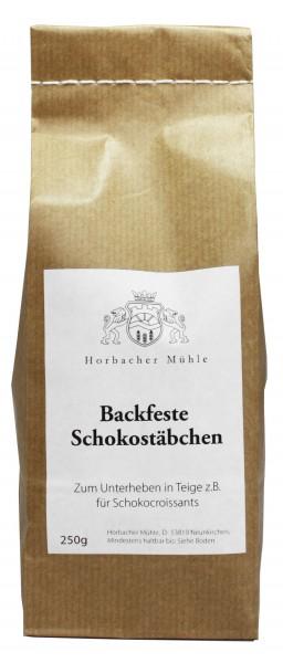 Backfeste Schokostäbchen(250g)
