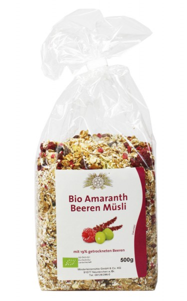 Bio-Amaranth Beeren Müsli