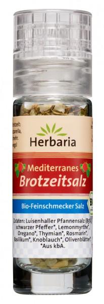 Bio Mediterranes Brotzeitsalz (Mini-Mühle)