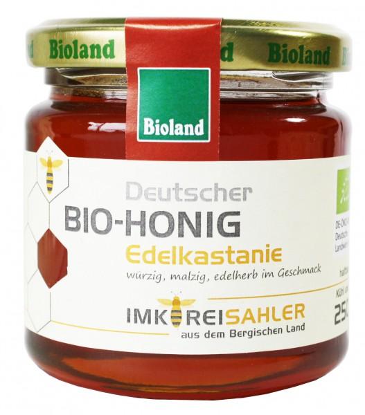 Bio-Honig (Edelkastanie) 250g