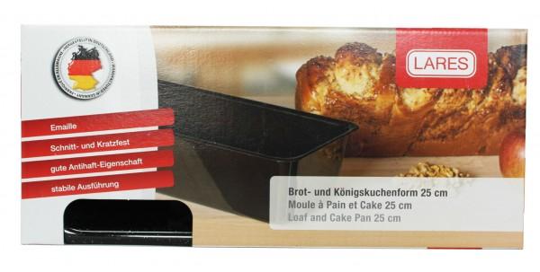 Emaille Brot- u. Kuchenform (25cm)