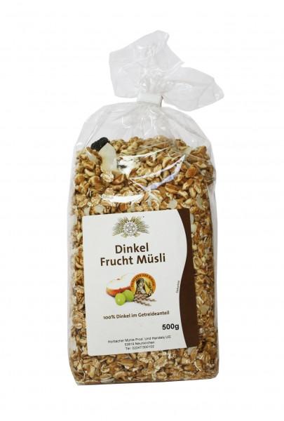 Dinkel-Fruchtmüsli