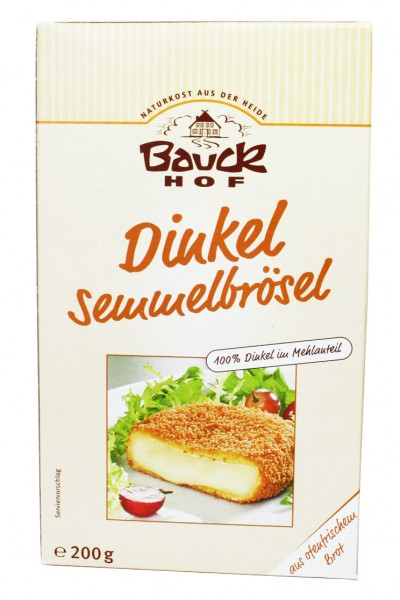 Bio Dinkel Semmelbrösel (200g)