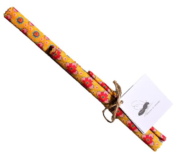 Grega's Bienenwachstuch SET (Sommertraum)