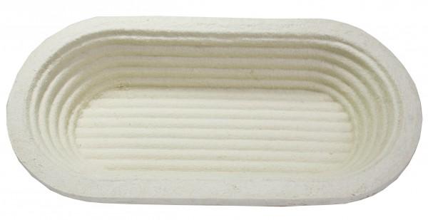 Gärform - lang oval - Rillen (1kg)