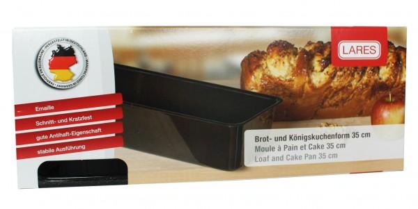 Emaille Brot- u. Kuchenform (35cm)