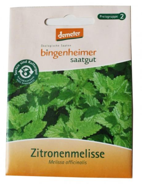 Zitronenmelisse (Bio-Saatgut)