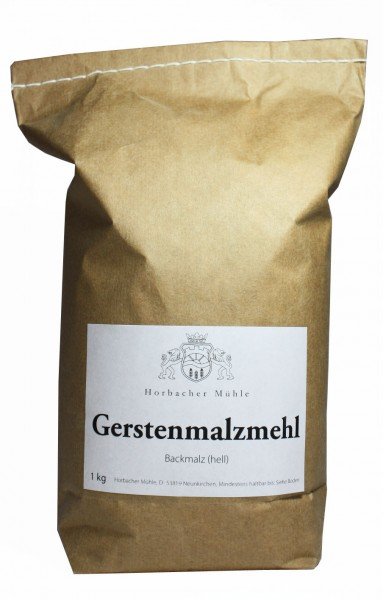 Gerstenmalzmehl (aktiv) 1kg