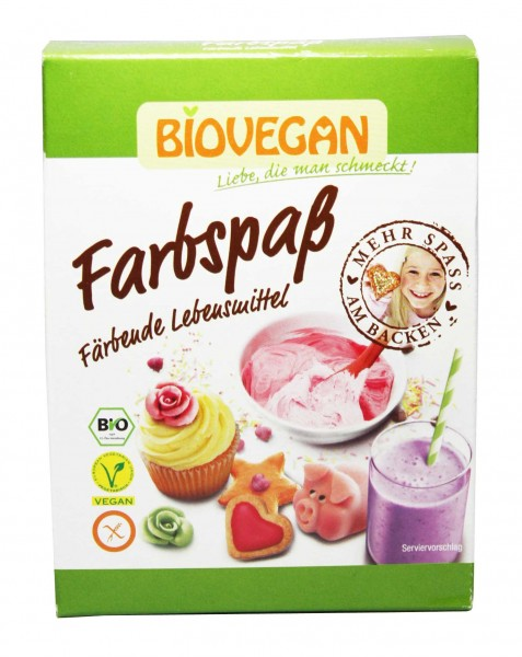 Bio Farbspaß Lebensmittelfarbe (5x8g)