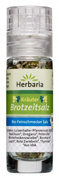 Bio Kräuter Brotzeitsalz (Mini-Mühle)