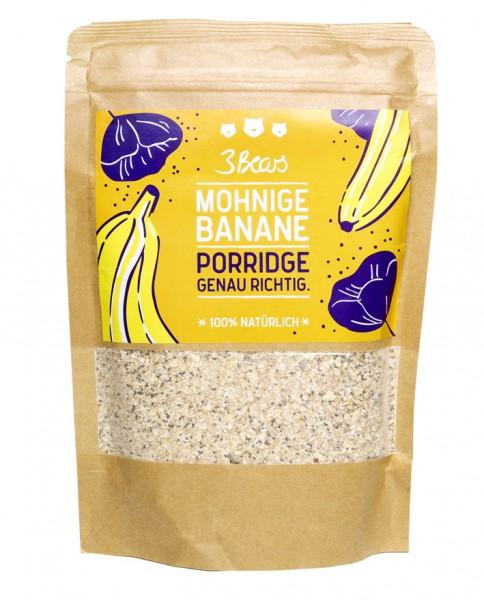 Mohnige Banane - Porridge