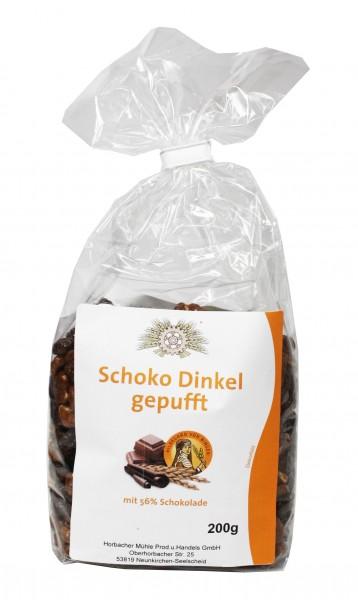 Schoko-Dinkel gepufft (200g)