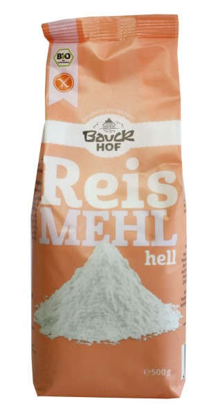 Bio Reismehl HELL (500g)