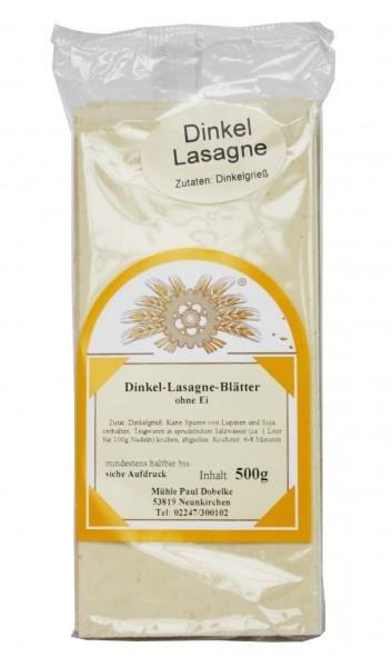 Dinkel-Lasagneblätter