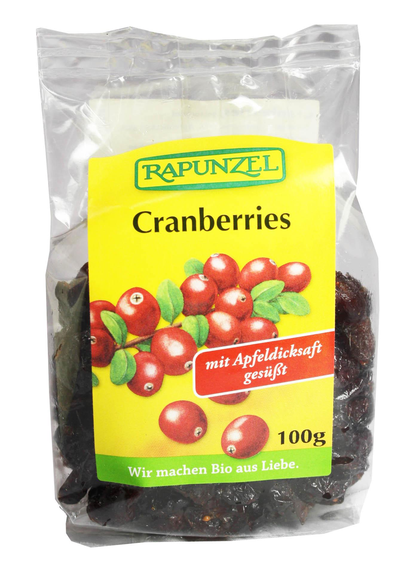 bio cranberries von rapunzel horbacher m hle. Black Bedroom Furniture Sets. Home Design Ideas