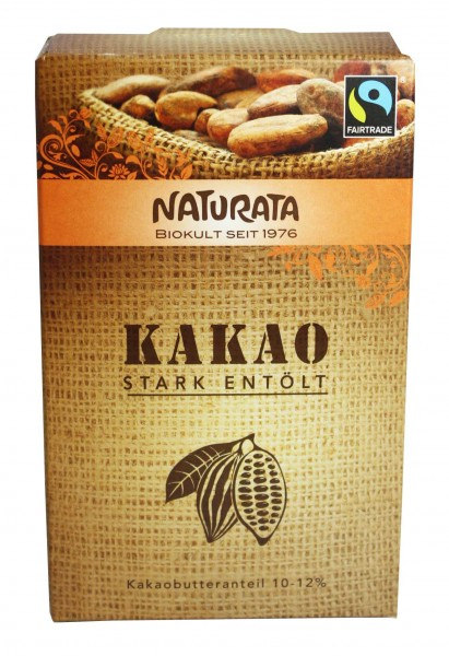 Kakao stark entölt 10-12% (125g)