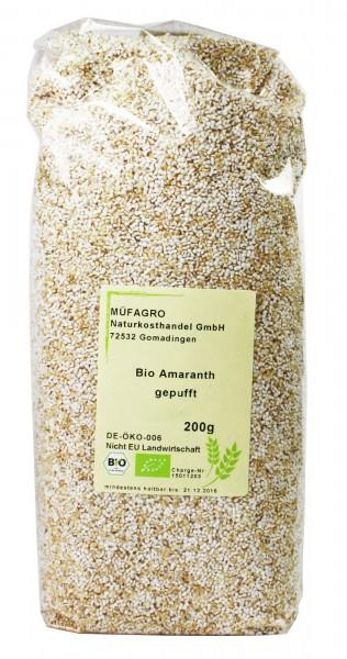 Bio-Amaranth (gepufft) 200g