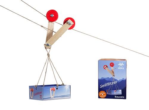Seilflitzer Bausatz mit 10m Seil