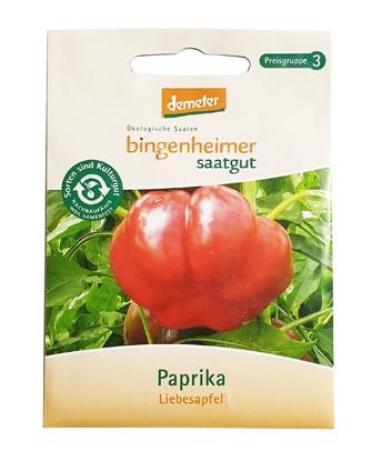 Paprika Liebesapfel (Bio-Saatgut)