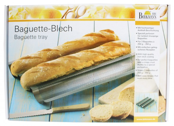 Baguette Backblech