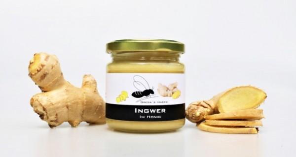 Grega's Ingwer im Honig (250g)