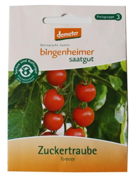 Zuckertraube Tomate (Bio-Saatgut)