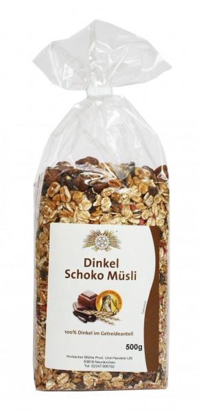Schoko-Dinkel-Müsli