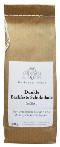 Dunkle Schokotropfen (250g)