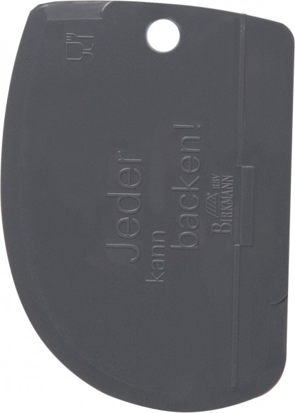 Teigkarte (oval)