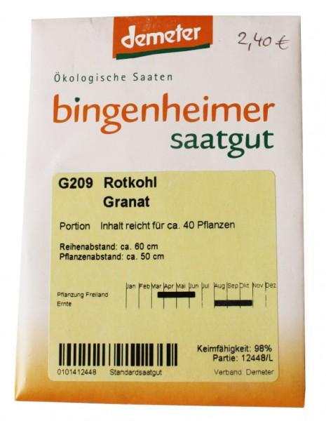 Rotkohl Granat